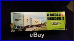 Amt Double Header Two 27 Ext. Post Trailers