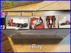 Amt- Ertl Autocar Dump Truck Model Kit # 38141 (sealed Parts)