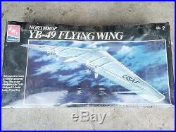 Amt Ertl Northrop Yb-49 Model Kit 1/72 Scale Factory Sealed New Nib #8619