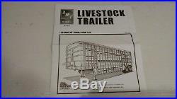 Amt Livestock Trailer