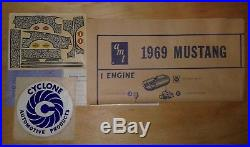 Amt Original 1969 Mustang Mach 1 Mib! Better L@@k