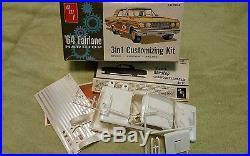 Amt Original Vintage Annual Screw Bottom 1964 Ford Fairlane unbuilt kit