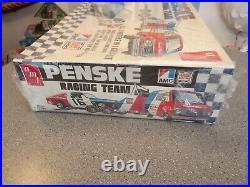 Amt Penske Racing Amc Madador Ant Team Chevy Van With Traler Vhtf Factory Seal