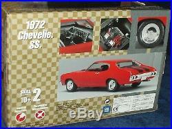 Amt Pro Shop 1972 Chevy Chevelle Ss 1/25 Prepainted Plastic Model Kit