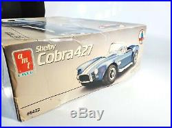 Amt Shelby Cobra 427 Scale 116 Scale Model Kit #6422 Started/incomplete