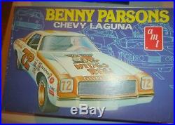 Amt T429 Benny Parsons #72 Kings Row Chevelle Laguna 1/25 Model Car Mountain
