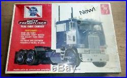 Amt T555 Pabst Blue Ribbon White Freightliner Model Car Mountain 1/25 Fs