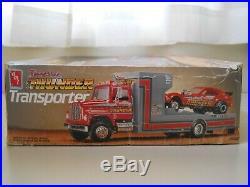 Amt Tennessee Thunder Ford Transporter Funny Car Sled Puller Model Kit