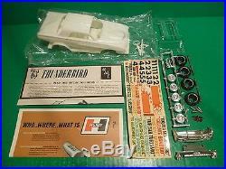 Amt Vintage 1963 Ford Thunderbird Tequila Mockingbird 1/25 Model Car Mountain