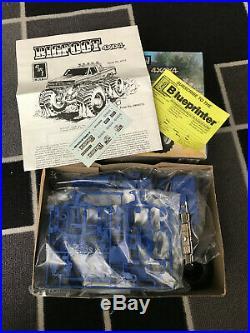 Amt Vintage 1989 Bigfoot 4x4x4 125 Scale Model Kit