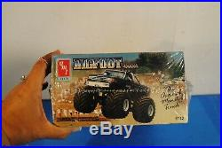 Amt Vintage 1989- Bigfoot 4x4x4 125 Scale Model Kit New In Box