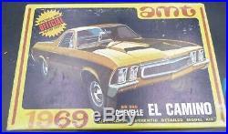 Amt Y914 Ct22 1969 Chevy El Camino Built Model Car Mountain 1/25
