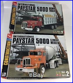 Amt/ertl 1/25 Scale International Paystar 5000 Cement Mixer & Dump Truck
