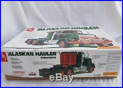 Amt matchbox 1/25 Alaskan kenworth hauler pk-6104 from 1979