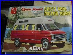 Amt open road chevy mini motor home