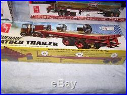 Assortment of AMT Factory Sealed Trailer kits, 1/25 scale Lot 32