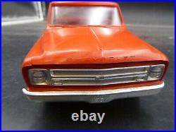 B14 Vintage 1967 Chevy C-10 Pickup Promo Red 1/25 Model Car Mountain