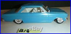 B16 Amt 1962 Chevy II Nova Hardtop Vintage Built Model Car Mountain 1/25