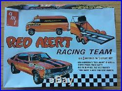 Bob Hamilton's Red Alert Racing Team Vintage Amt Model Car Drag Chevelle Van