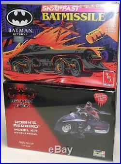 Batman Returns Batmissile & Robin's Redbird Model Kits By Revell / Amt/ertl