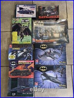Batman /Star wars Model Kits