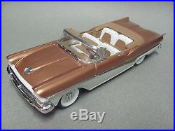 Beautiful Pro Built Vintage AMT 1958 Ford Fairlane Sunliner Conv. Palamino Tan