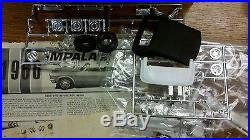Beautifully built model car display as is AMT 1966 Chevy Impala convertible