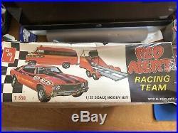 Bob Hamilton Amt 1970 Chevelle Red Alert Race Team Model Kit