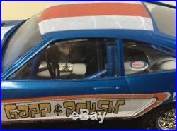 Built 1974 Mustang II Model Kit Gapp & Roush Funny Car Dragster Nicely Done