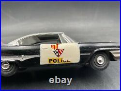C15 Johan 1960 Dodge Police car BUILT MODEL Car 1/25 McM