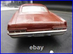 C1 AMT 1966 CHEVY IMPALA HARDTOP DEALER PROMO CAR TRANSISTOR RADIO vintage 1/25