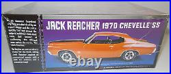 Cars Jack Reacher's 1970 Chevelle Ss 1/25 Scale Model Kit Made By Amt