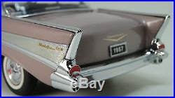 Chevy 1957 BelAir Chevrolet Built Hot Rod 1 Race 12 Sport Car 24 Model 25 1955