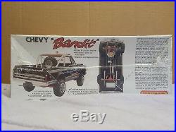 Chevy Bandit Built Kit Amt#pk-4631 1/25 As Is For Parts Or Repair Matchbox