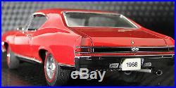 Chevy Chevelle SS 1968 1 Chevrolet Built 24 Car 18 Model 12 Carousel Red 1969 25