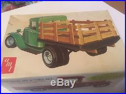 Circa 1965 AMT1934 Ford Pickup -ALL parts on trees 50 YEARS OLD and just like nu
