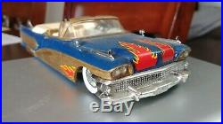 Clean Built Up Original Issue AMT/SMP 1958 Buick Convertible 3 in 1 Model Car