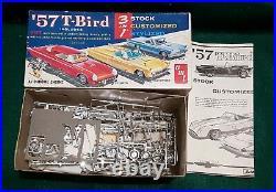 Collection of 4 Vintage Original AMT Model Kits
