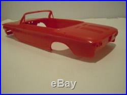 Corvair 63 Convertiable Amt Red