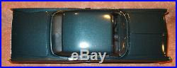 Dealer Promo 1963 Pontiac Bonneville with box Marlin Aqua 1/25th plastic model