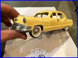 Dealer Promo Model 1952 KAISER S. C. MILLER RESIN PROMO YELLOW