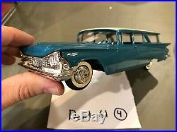 Dealer Promo Model 1959 BUICK INVICTA BLUE WAGON MEMORY LANE 1/150 HIGH GRADE