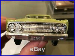 Dealer Promo Model 1964 MERCURY COMET CALIENTE GREEN HIGH GRADE