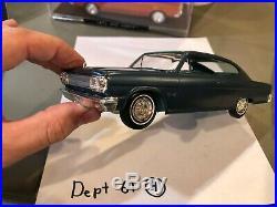 Dealer Promo Model 1965 AMC MARLIN HARDTOP BLUE HIGH GRADE