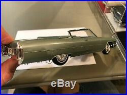 Dealer Promo Model 1965 CADILLAC COUPE DEVILLE GREEN CONVERTIBLE HIGH GRADE