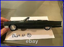 Dealer Promo Model 1966 CADILLAC COUPE DEVILLE GREEN CONVERTIBLE HIGH GRADE