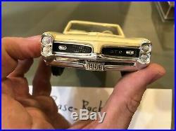 Dealer Promo Model 1966 PONTIAC GTO WHITE CONVERTIBLE HIGH GRADE