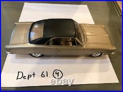 Dealer Promo Model 1968 AMC AMBASSADOR GOLD HARDTOP HIGH GRADE