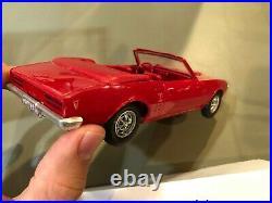 Dealer Promo Model 1968 PONTIAC FIREBIRD CONVERTIBLE RED HIGH GRADE