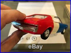 Dealer Promo Model 1969 AMC AMX JAVELIN RED WHITE BLUE RARE! HIGH GRADE